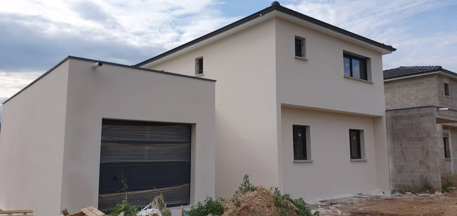 Prix d'un ravalement de façade pour une maison de 100m2 - Artisan pour ravalement de façade à ...